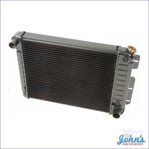 Radiator Small Block Automatic Transmission 4 Row Core Size 17 X 20-3/4 2-5/8 (Os1) F1