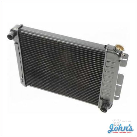 Radiator Small Block Manual Transmission 3 Row Core Size 17 X 20-3/4 2 (Os1) F1