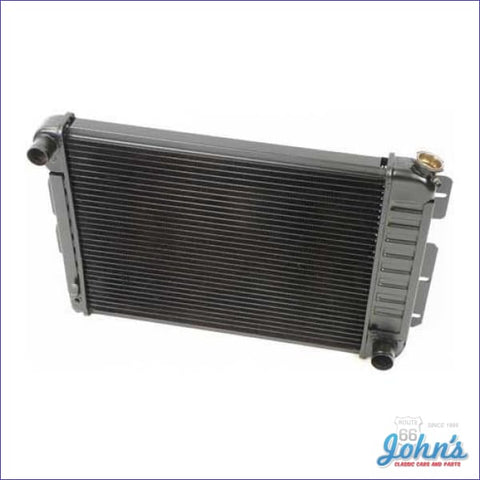 Radiator Small Block Manual Transmission 3 Row Core Size 17 X 23 2 (Os1) F1