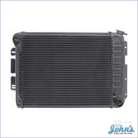 Radiator Small Block Manual Transmission 4 Row Core Size 17 X 20-3/4 2-5/8 (Os1) F1