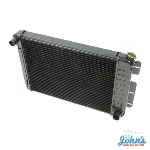 Radiator Small Block Manual Transmission 4 Row Core Size 17 X 23 2-5/8 (Os1) F1