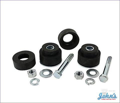 Radiator Support Bushing Kit With Hardware Reproduction Style A