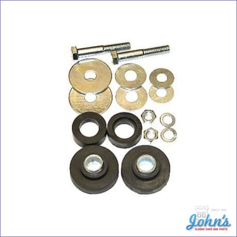 Radiator Support Bushing Kit With Hardware X F2 F1