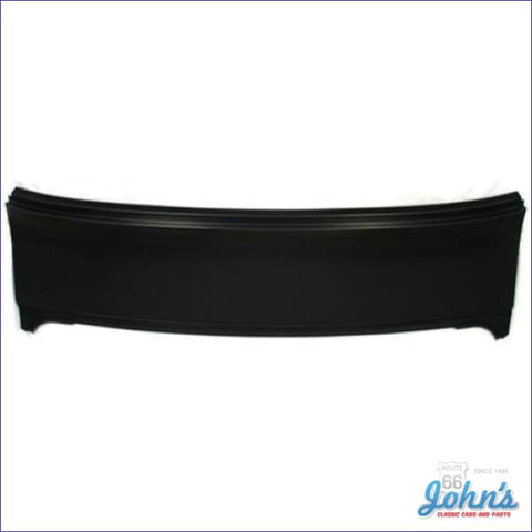 Rear Deck Filler Panel 2 Dr Coupe. (Os2) A