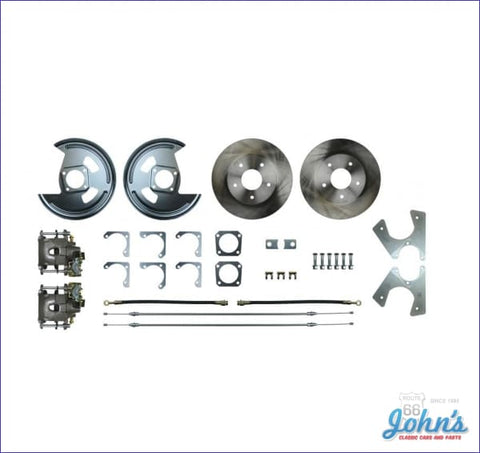 Rear Disc Brake Conversion Kit With Standard Rotors. (Os1) A