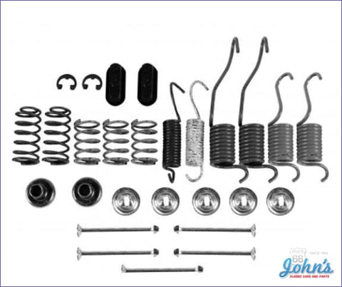 Rear Drum Brake Hardware Kit With 9-1/2 Brakes A F2 X F1