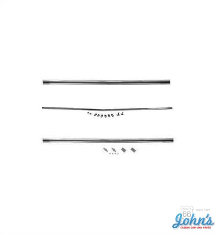 Rear Panel Molding Kit Set Of 3. (Os1) A