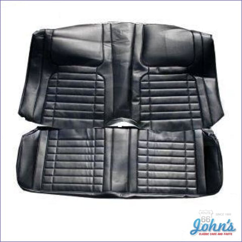 Rear Seat Cover For Coupe With Deluxe Interior Without Fold Down F1