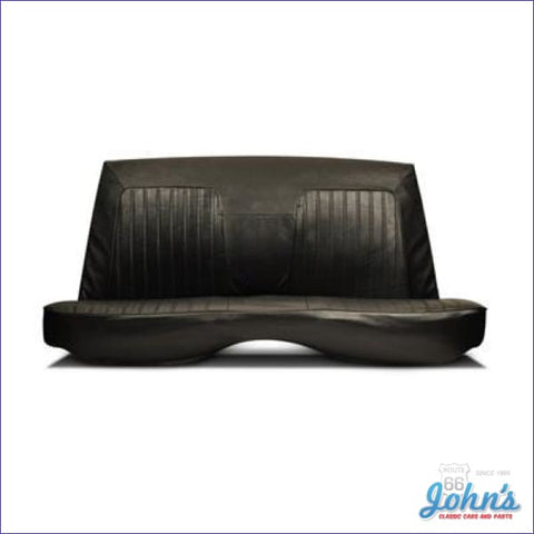 Rear Seat Cover For Coupe With Standard Interior Without Fold Down F1