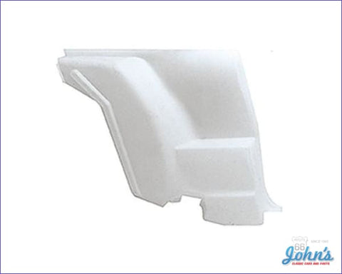 Rear Side Lower Trim Panel Lh. Paint To Match. Gm Nos. (Os2) F2