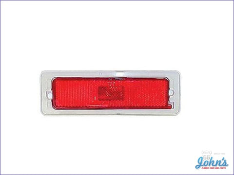 Rear Sidemarker Lamps Pair X