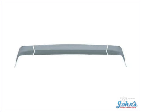 Rear Spoiler - Tall Design 3Pc Gm Licensed Reproduction F2