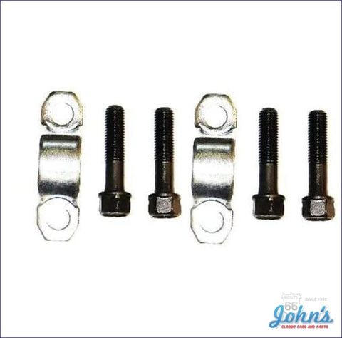Rear U-Joint Retainer Kit. Strap Style A F2 X F1