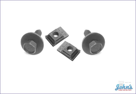 Rear Valance Panel Mounting Hardware Kit- 4Pc A