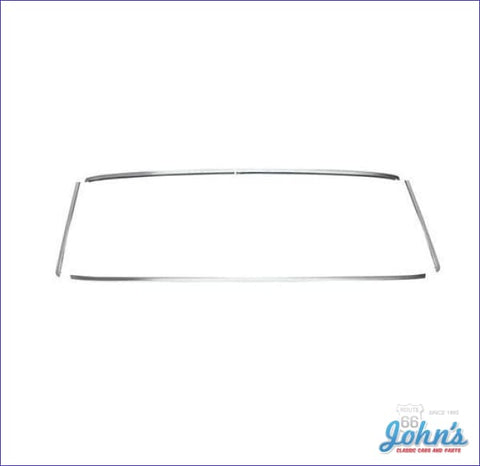 Rear Window Molding Kit For Coupe. (Os1) A