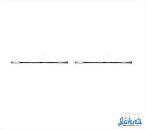 Rocker Panel Molding Kit For 2Dr- Pair (Os2) A