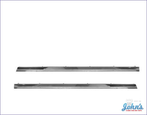 Rocker Panel Molding Kit For Malibu- Pair (Os2) A