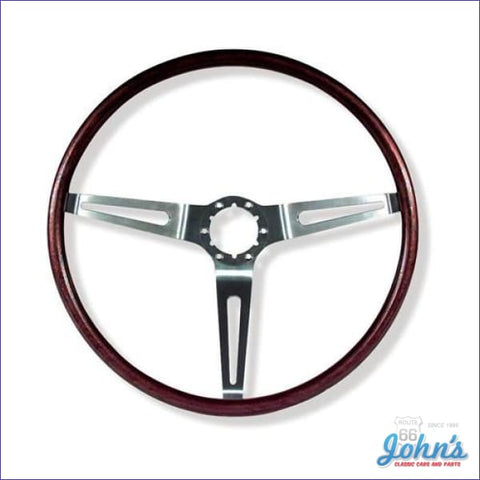 Rosewood Steering Wheel Only Gm Licensed Reproduction A X F1