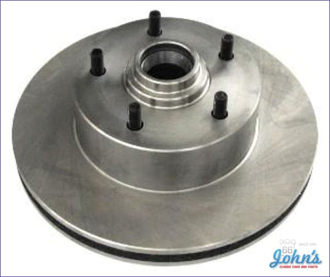Rotor Front With Single Piston Caliper- Oe Replacement- Each (O/s$5) A X F1