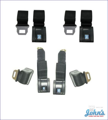Seat Belt Kit Standard Gm Licensed Reproduction A X