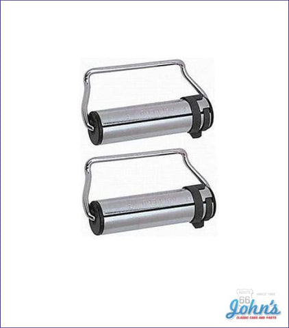 Seat Belt Retractors- Pair Gm Licensed Reproduction A X F1