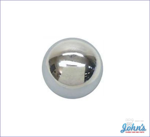 Shifter Knob - Chrome With 3/8 Thread Size A X F2 F1