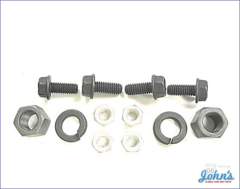 Shock Mounting Hardware Kit Rear- 12Pc A
