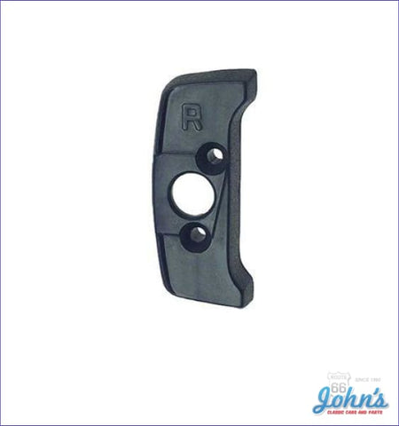 Shoulder Belt Guide Escutcheon - Rh X F2
