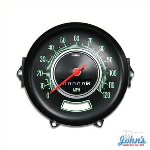 Speedometer Assembly Gm Licensed Reproduction A