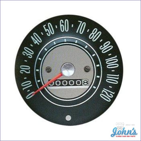 Speedometer Assembly Gm Licensed Reproduction X