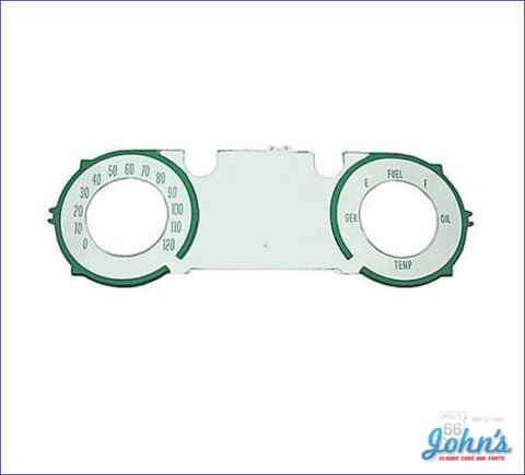 Speedometer Lens Without Factory Gauges A