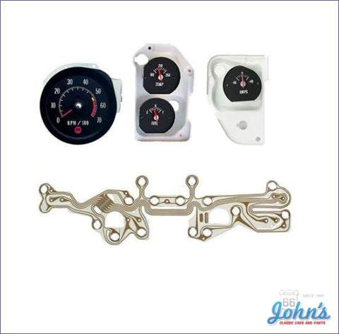 Ss Oe Style Tachometer And Gauge Kit. A