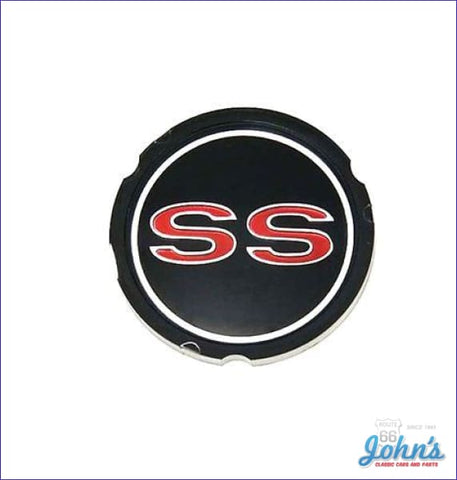Ss Wheel Cover Emblem. Gm Licensed Reproduction. X