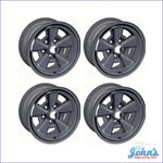 Steel Wheels Oe Style - Z28 5 Spoke (15 X 7) Kit Of 4. (Os4) F2