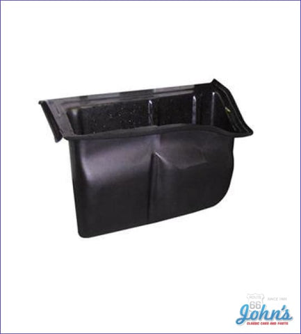 Storage Box Behind Rear Seat. (Os2) A