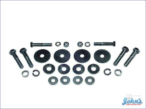 Subframe And Radiator Support Bushing Hardware Kit. Reproduction X F1