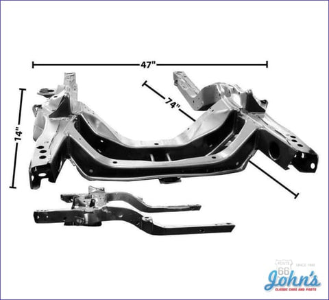 Subframe Assembly Factory Correct. (Truck) X F1