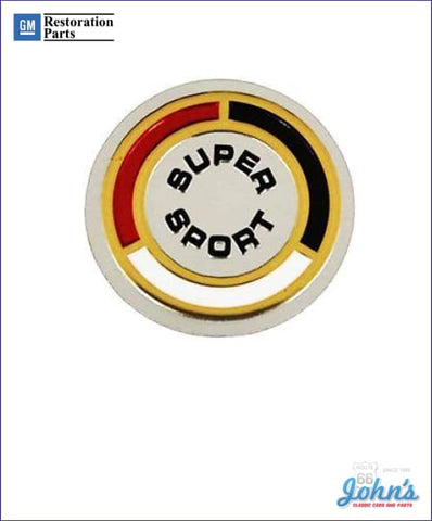 Super Sport Horn Button Emblem Insert Gm Licensed Reproduction X