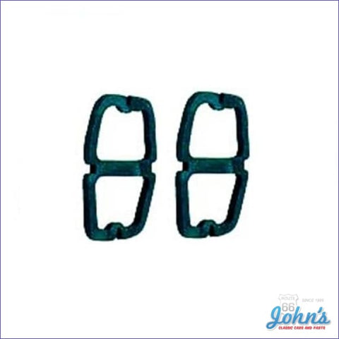 Tail Light And Back Up Lens Gaskets Pair - Wagon Only. X