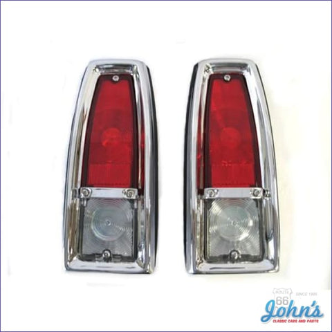 Tail Light Assemblies - Pair. Reproduction. X