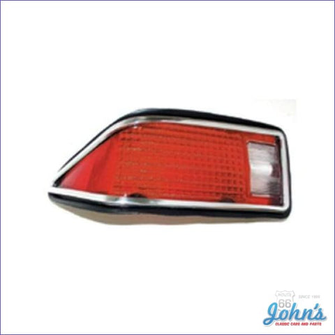 Tail Light Assembly. Lh. Gm Licensed Reproduction. F2
