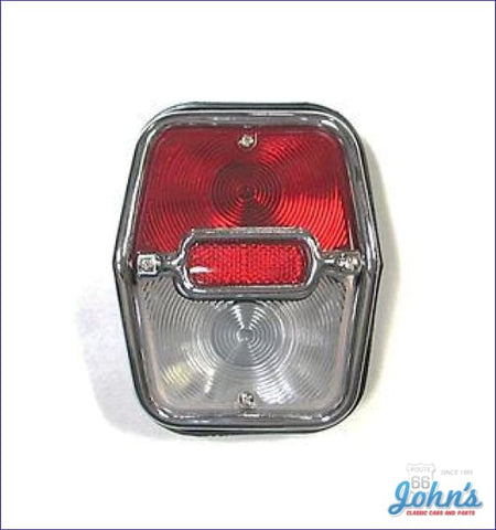 Tail Light Assembly - Lh Or Rh. Gm Licensed Reproduction. X