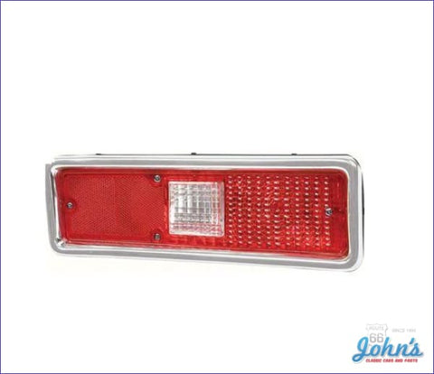 Tail Light Assembly - Rh. X