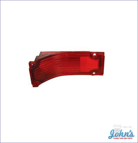 Tail Light Lens Each. Reproduction. A