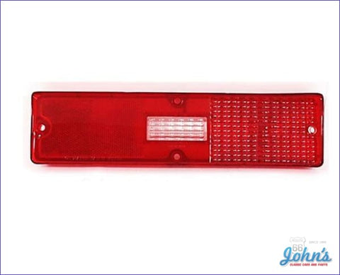 Tail Light Lens Rh. Gm Licensed Reproduction. X