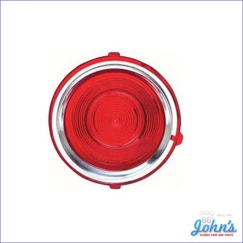 Tail Light Lens Standard. Lh. Gm Licensed Reproduction. F2