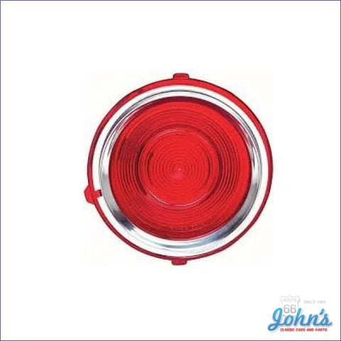 Tail Light Lens Standard. Rh. Gm Licensed Reproduction. F2