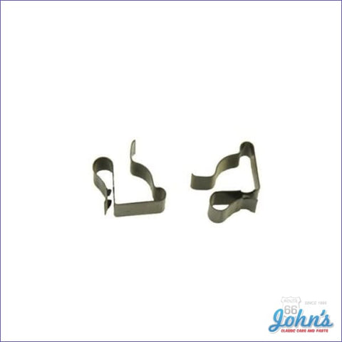 Tail Light Wire Retaining Clips -Pair. F2
