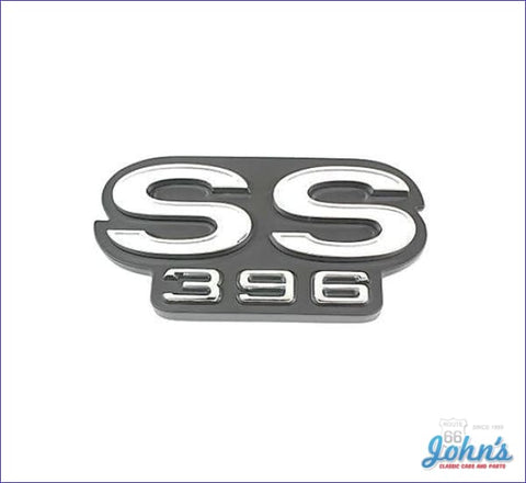 Tailgate Emblem Ss396- Gm Licensed Reproduction. A