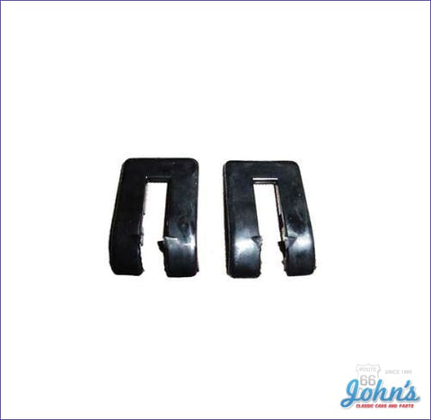 Tailgate Hinge Plastic Covers Pair. A